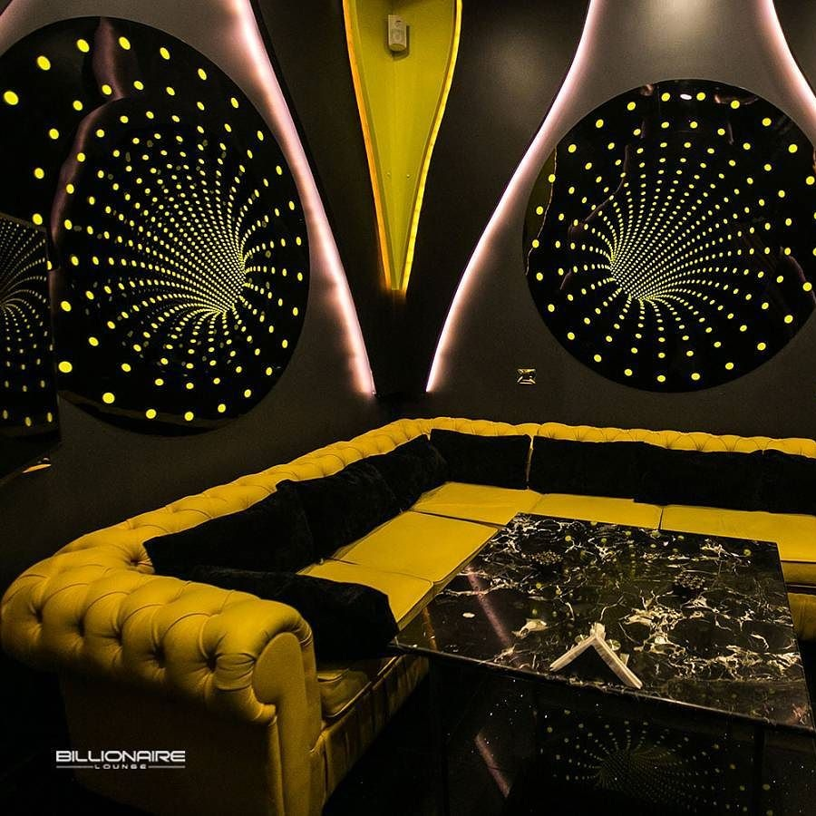 Billionaire Lounge Room Perspective