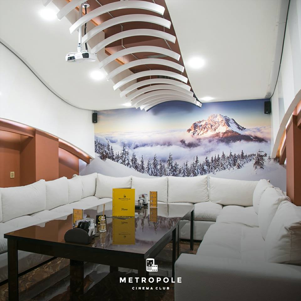 Metropole Cinema Room Snow Bridge