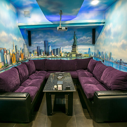 Hollywood Platinum Cinema Room New York