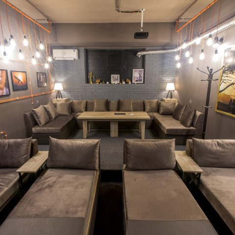 5 Doors Cinema Room Gray
