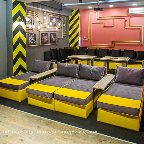 5 Doors Cinema Room Yellow