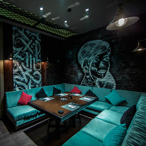Black Lounge Room 3