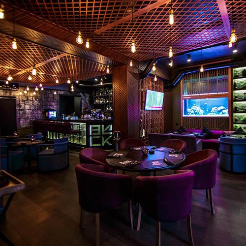 Black Lounge Hall Bar