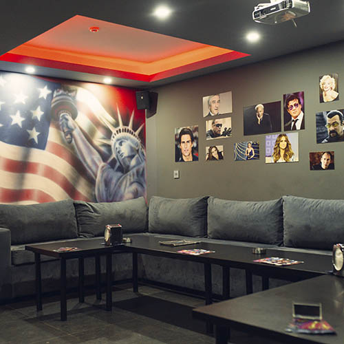 World Cinema & Karaoke Room USA