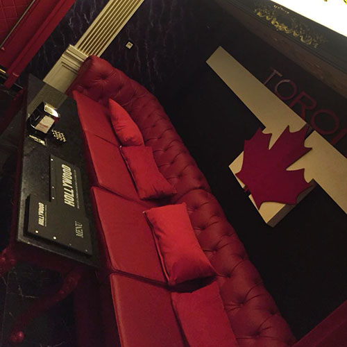 Hollywood Planet Cinema Room Toronto