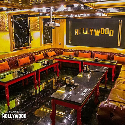 Hollywood Planet Cinema Room Hollywood