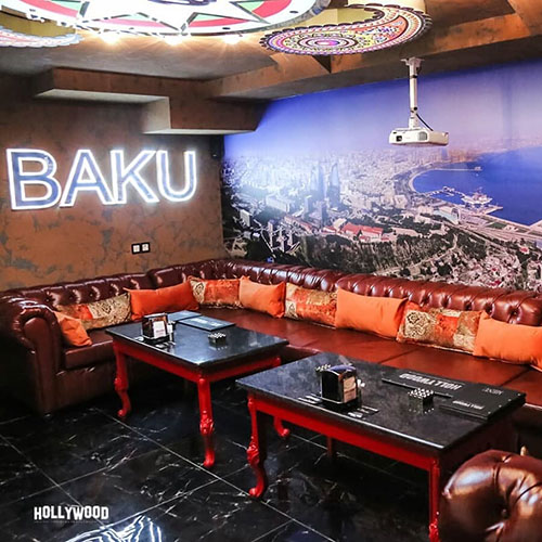 Hollywood Planet Cinema Room Baku