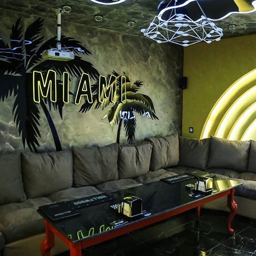 Hollywood Planet Cinema Room Miami
