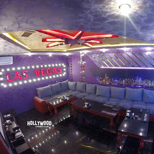 Hollywood Planet Cinema Room Las Vegas