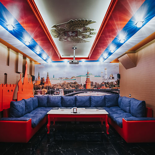Hollywood Planet Cinema Room Moscow