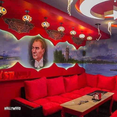 Hollywood Planet Cinema Room Istanbul