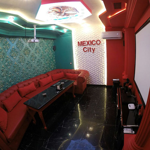 Hollywood Planet Cinema Room Mexico