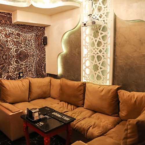 Hollywood Planet Cinema Room Tabriz