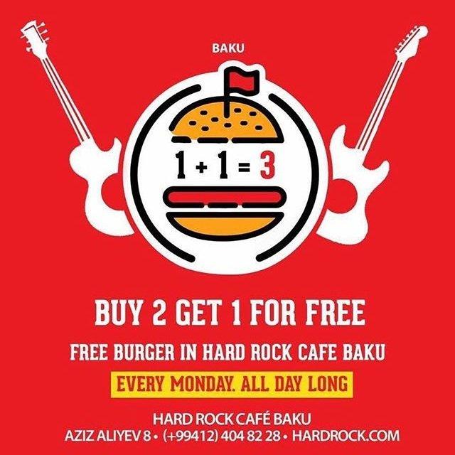 Hard Rock Cafe Menu Baku